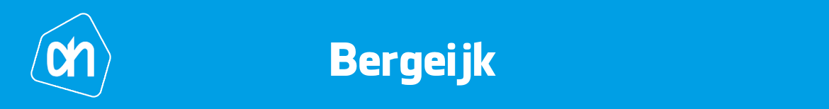 Albert Heijn Bergeijk Folder