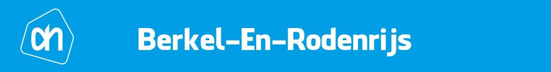 Albert Heijn Berkel En Rodenrijs Folder