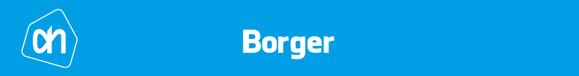 Albert Heijn Borger Folder