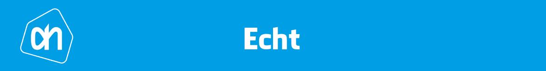Albert Heijn Echt Folder
