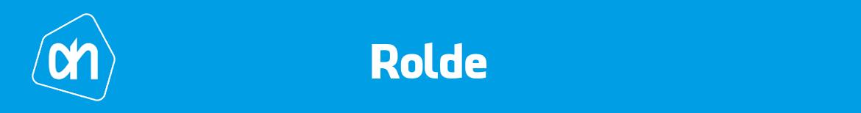 Albert Heijn Rolde Folder