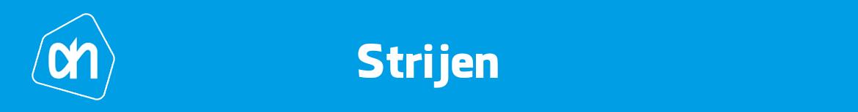 Albert Heijn Strijen Folder