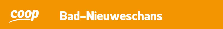 Coop Bad Nieuweschans Folder