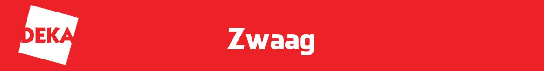 DekaMarkt Zwaag Folder