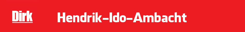 Dirk Hendrik-Ido-Ambacht Folder