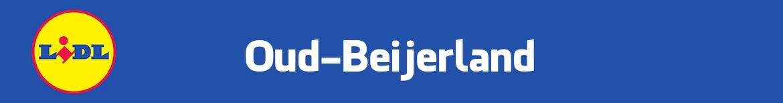 Lidl Oud-Beijerland Folder