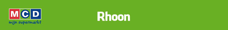 MCD Rhoon Folder