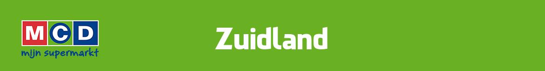 MCD Zuidland Folder