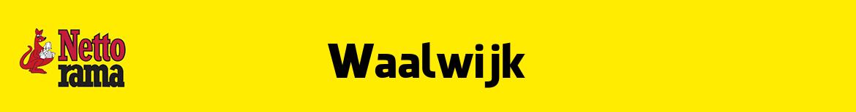 Nettorama Waalwijk Folder