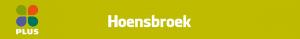 Plus Hoensbroek Folder