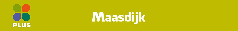 Plus Maasdijk Folder