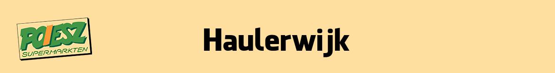 Poiesz Haulerwijk Folder