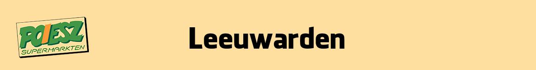 Poiesz Leeuwarden Folder