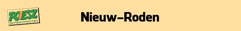 Poiesz Nieuw-Roden Folder