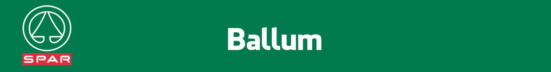 Spar Ballum Folder