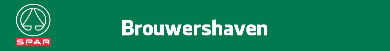 Spar Brouwershaven Folder