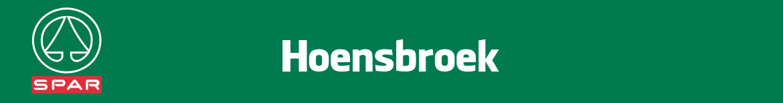 Spar Hoensbroek Folder