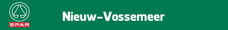 Spar Nieuw-Vossemeer Folder