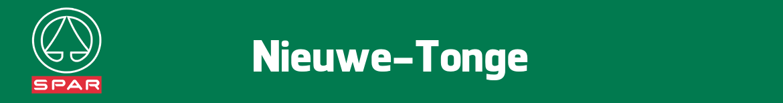 Spar Nieuwe-Tonge Folder