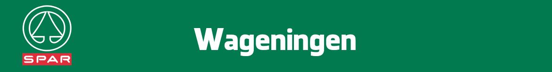Spar Wageningen Folder
