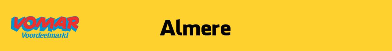 Vomar Almere Folder
